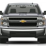 Chevy Chevrolet Truck Windshield Banner Decal Sticker