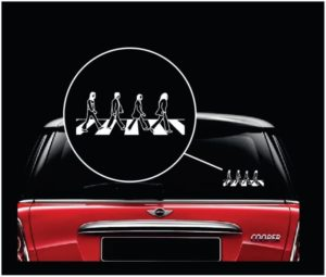 Beatles Abby Road Window Decal Sticker a2