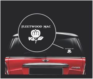 fleetwood mac window decal sticker a1