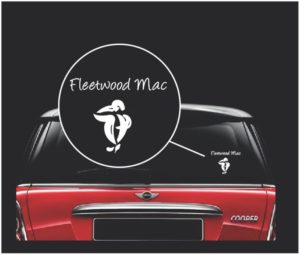 fleetwood mac window decal sticker a2