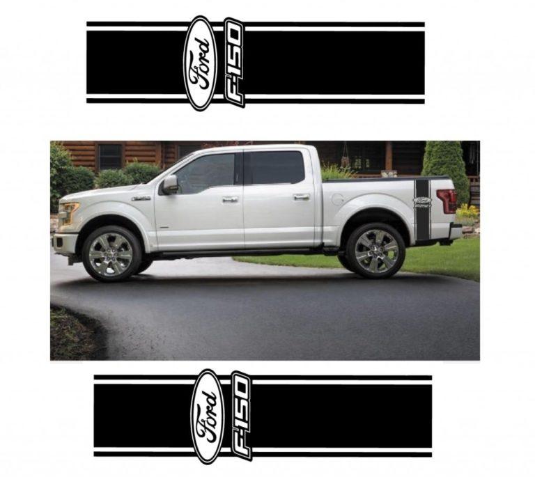 43bb995c821bd Ford F-150 F150 Sticker Set of 2 - Truck Decals – Custom Sticker Shop