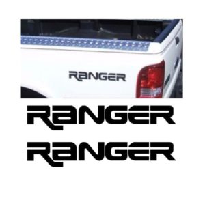 ford ranger bedisde decal sticker set of 2