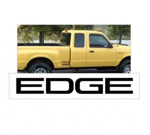 Ford Ranger EDGE Bedside graphic set of 2 vinyl decal stickers