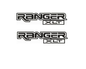 Ford Ranger Xlt Bedside graphic set of 2 vinyl decal stickers a2