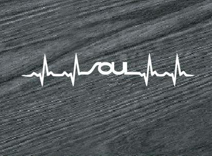 Kia Soul Heartbeat Vinyl Window Decal Sticker