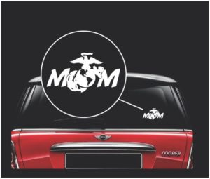marine mom decal sticker