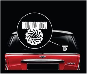 Soundgarden sound garden Window Decal Sticker a2