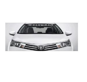 toyota corolla windshield decal sticker