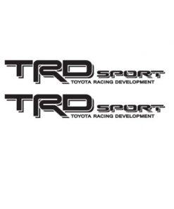 Toyota TRD Sport Bedside Vinyl Decal Stickers set