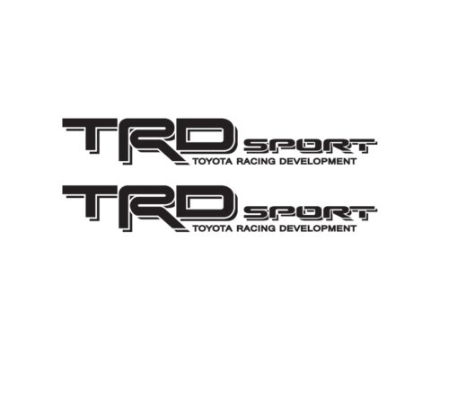 Toyota Trd Sport Bedside Vinyl Decal Stickers Set