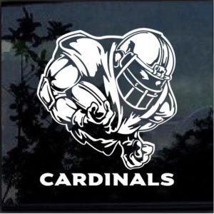 Arizona Cardinals Football player Window Decal Sticker