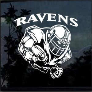 Baltimore Ravens Football player Window Decal Sticker