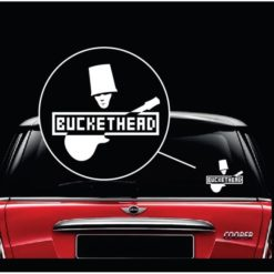 BucketHead band window decal sticker