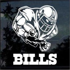 Buffalo Bills Football Player Window Decal Sticker
