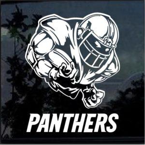 Carolina Panthers Football player Window Decal Sticker