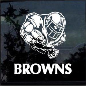 Cleveland Browns Football player Window Decal Sticker