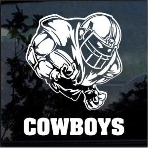 Dallas Cowboys Football player Window Decal Sticker