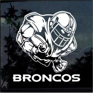 Denver Broncos Football Player Decal Sticker