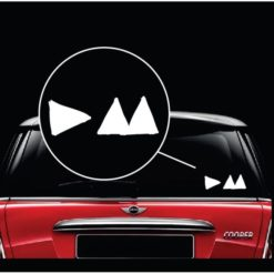 Depeche Mode Band Window Decal Sticker