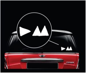 Depeche Mode Band Window Decal Sticker