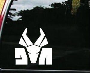 Die Antwoord Band Vinyl Decal Stickers