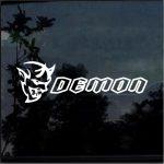 Dodge Challenger SRT Demon  Window Decal Sticker