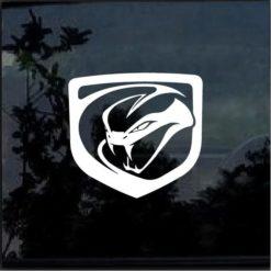 Dodge Viper Srt Window Decal Sticker