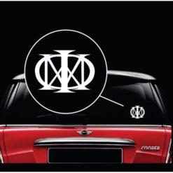 Dream Theater MAJESTY Music Band Window Decal Sticker