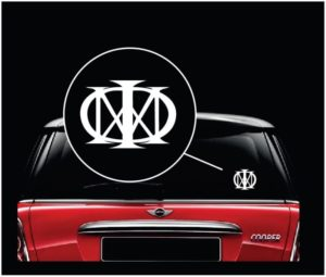 Dream Theater MAJESTY Music Band Window Decal Sticker