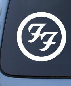 Foo Fighters Band Vinyl Decal Stickers