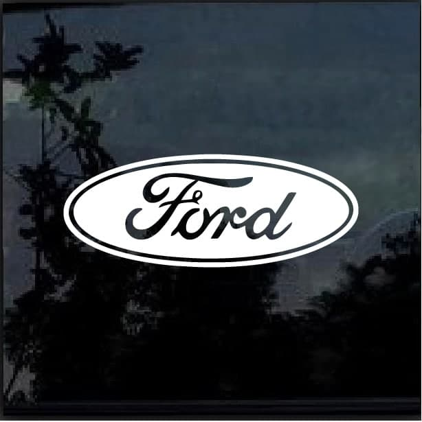 Ford Car Or Truck Window Decal Stickerwindow Decal Sticker