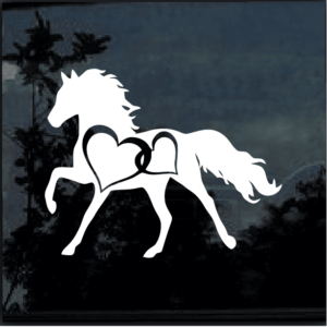 HORSE HEART Vinyl Decal Sticker a6