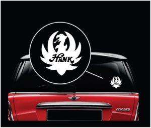 Hank williams jr Bocephus window decal sticker