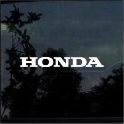 Honda Window Decal Sticker