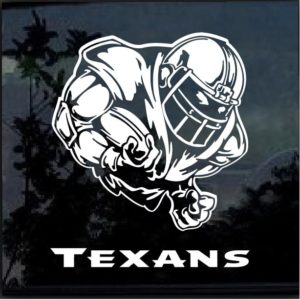 Houston Texans Football player Window Decal Sticker
