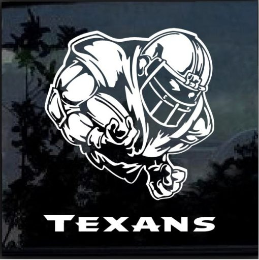 Houston Texans Football player Window Decal Sticker
