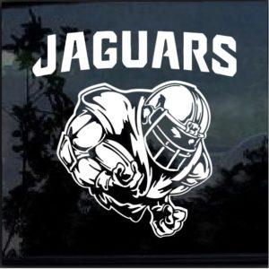 Jacksonville Jaguars Football player Window Decal Sticker