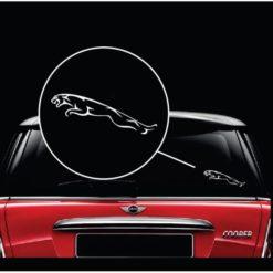 Jaguar Logo Vinyl Window Decal Sticker