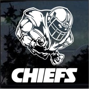 Kansas City Chiefs Football Player Window Decal Sticker