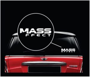 Mass Effect Window Decal Sticker