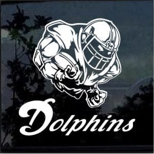 Miami Dolphins Football Player Decal Sticker