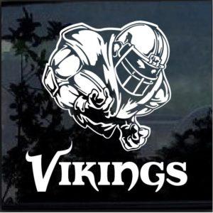 Minnesota Vikings Football player Window Decal Sticker