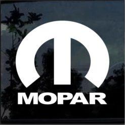 Mopar Vinyl Window Decal Sticker