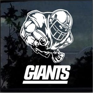 New York Giants Football player Window Decal Sticker
