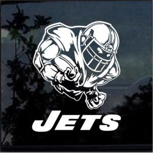 New York Jets Football player Window Decal Sticker