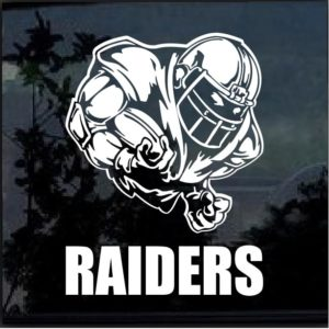 Oakland Raiders Football player Window Decal Sticker