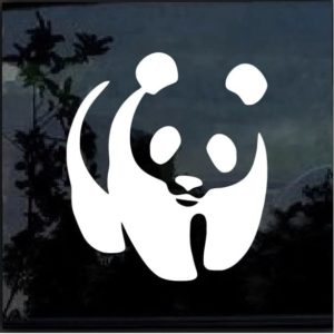 PANDA Vinyl Window Decal Sticker Car