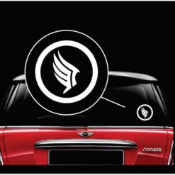 Paragon Logo Mass Effect Window Decal Sticker