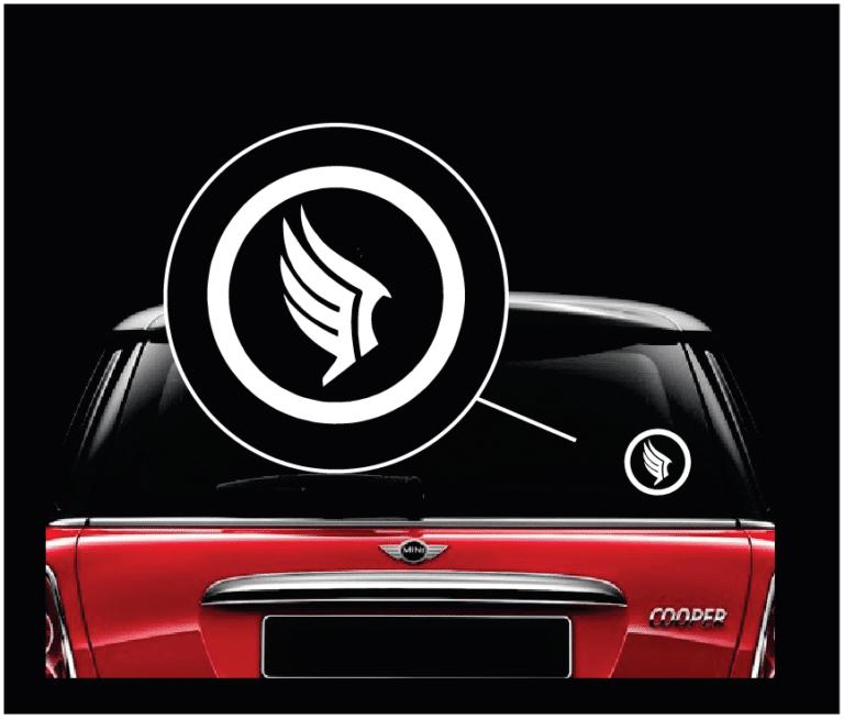 Paragon Logo Mass Effect Window Decal Sticker Custom Sticker Shop