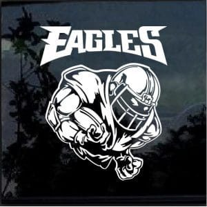 Philadelphia Eagles Football player Decal Sticker